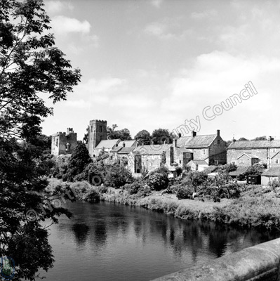 River Ure, West Tanfield, 1966